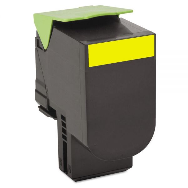 Lexmark 80C10Y0  Yellow Return Program Toner Cartridge