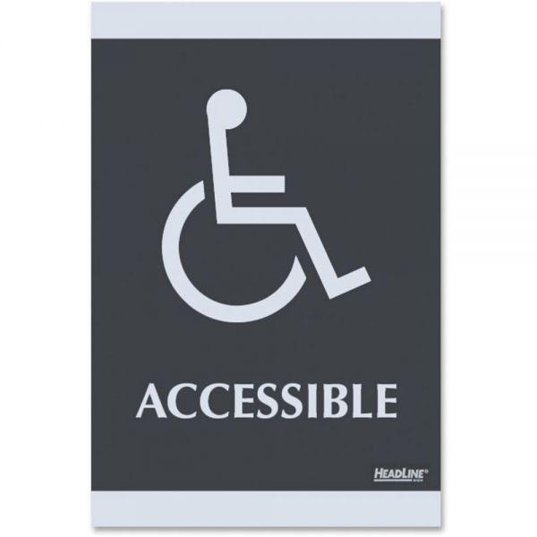 "U.S. Stamp & Sign ""Handicap Accessible"" Sign"
