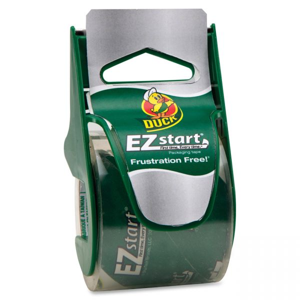 Duck Brand EZ Start Packing Tape with Dispenser