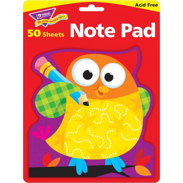 Trend Owl-Stars! Note Pad