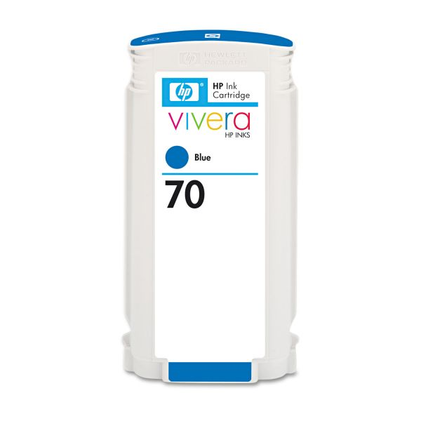 HP 70 Blue Ink Cartridge (C9458A)