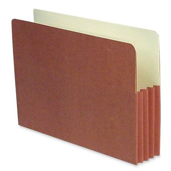SJ Paper Red Wallet Expanding Pockets