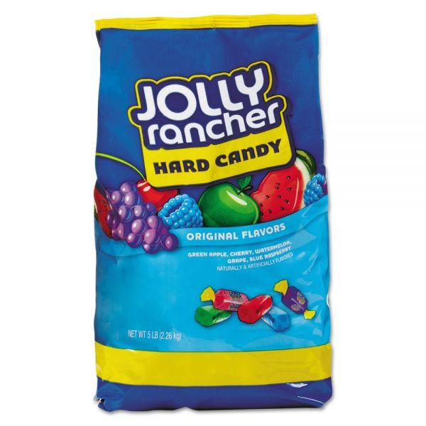 Jolly Rancher Original Hard Candy, Assorted Fruit Flavors, 5 lb Bag