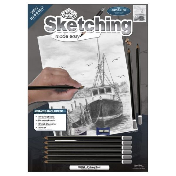 "Sketching Made Easy Kit 9""X12"""