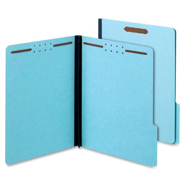 Globe-Weis Pressboard File Folders with Fasteners