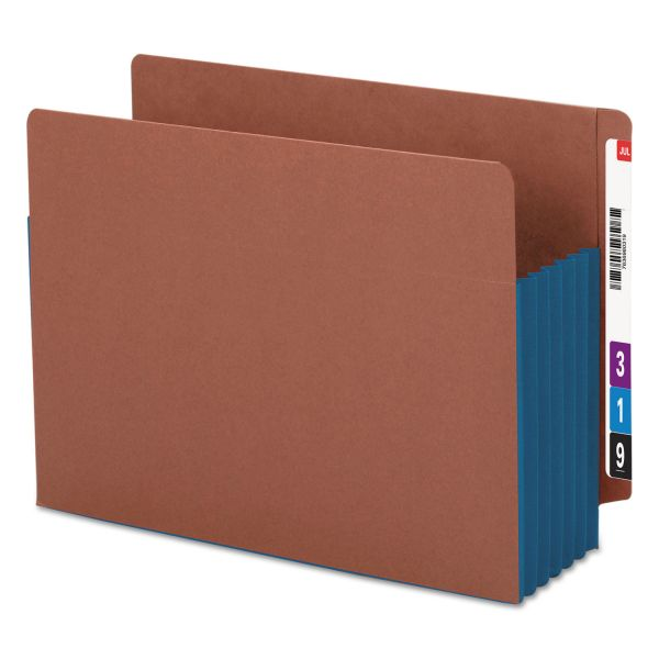 Smead Accordion End Tab File Pockets