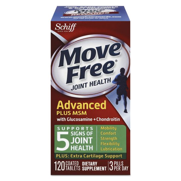 Move Free Advanced Plus MSM Total Joint Health Tablets