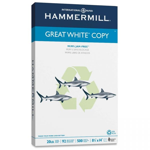 Hammermill Great White Copy White Copy Paper