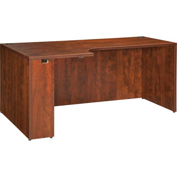Lorell Essentials Rectangular Left Desk Shell