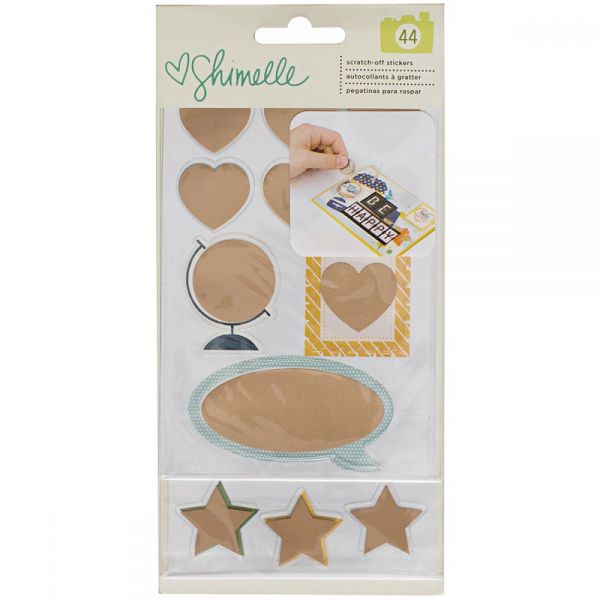 Shimelle Go Now Go Scratch Off Stickers