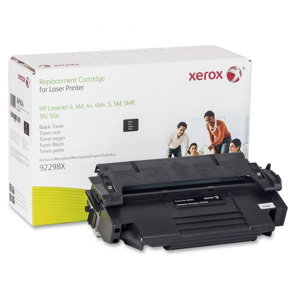 Xerox 006R00904 Replacement High-Yield Toner for 92298X (98X), 9300 Page Yield, Black