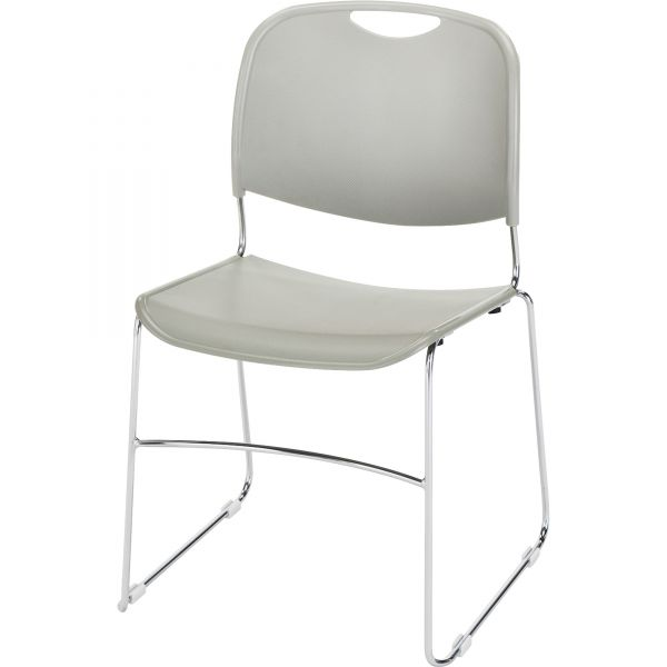 Lorell Lumbar Support Stacking Chairs