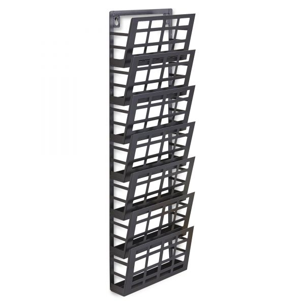 Grid Coat Rack In Office Accessories: Safco Grid Magazine Rack - SAF4662BL