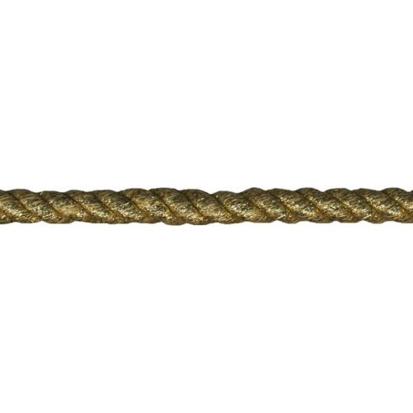 "Jumbo Metallic Twisted Cord 1/2""X12yd"