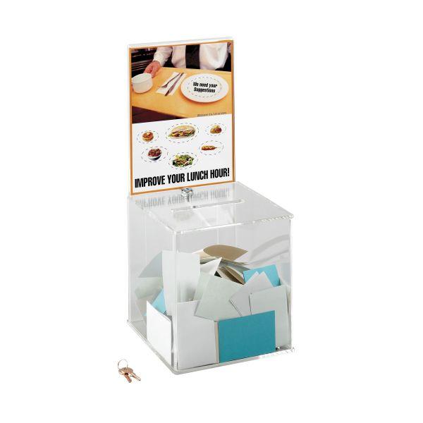 Safco Collection Box