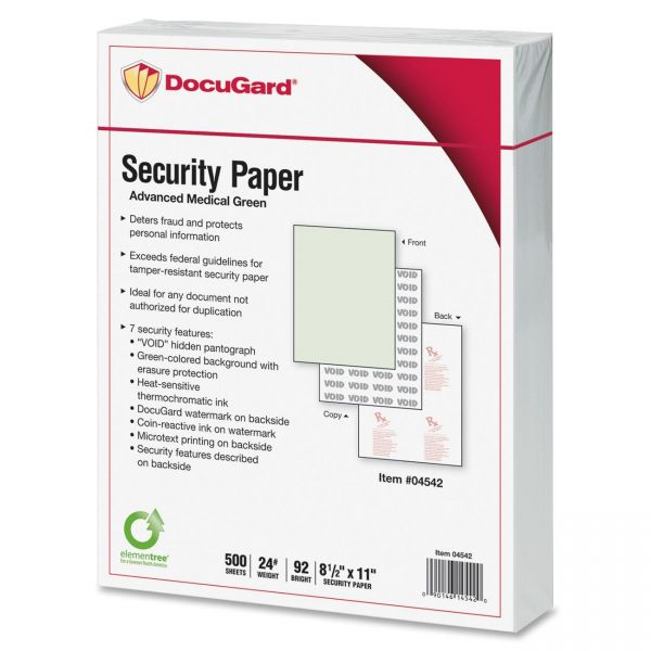 Paris Business Products DocuGard Security Paper