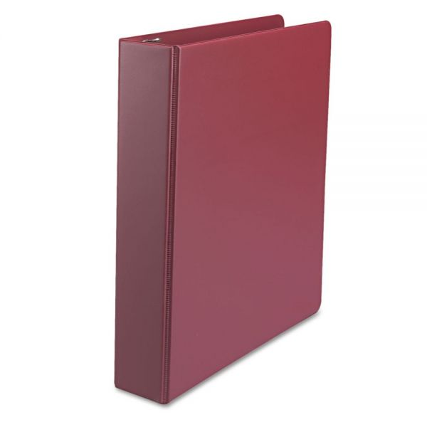 "Universal Suede Finish Vinyl 1 1/2"" 3-Ring Binder"