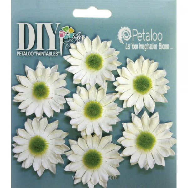 "DIY Paintables Darjeeling Mini Daisies 1.25"" 7/Pkg"