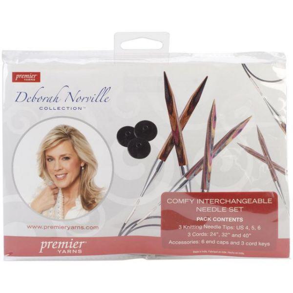 Deborah Norville Interchangeable Knitting Set