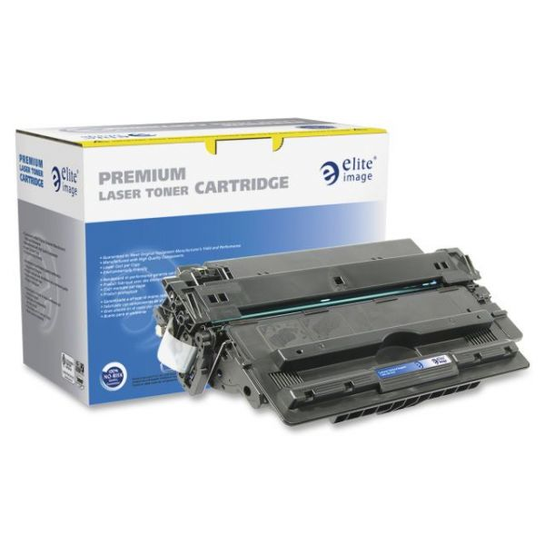 Elite Image Remanufactured HP 14X (CF214X) High Yield Toner Cartridge