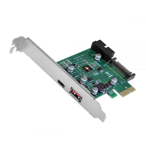 SIIG USB 3.1 Gen 1 3-Port PCIe with Charging Port - Type-C Ready