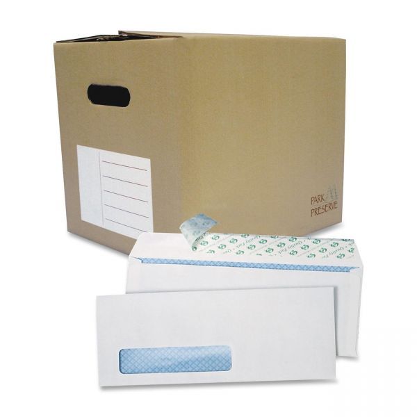 Quality Park Redi Strip Single Window Business Envelopes