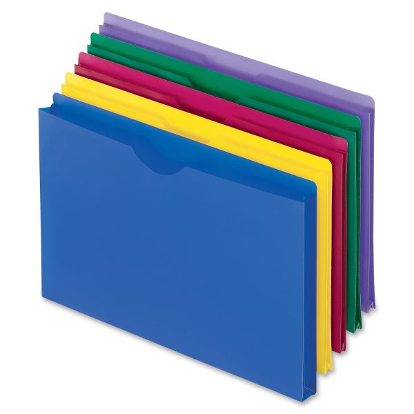 Pendaflex Translucent Poly Legal-size File Jackets