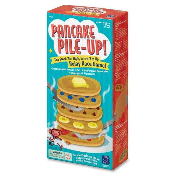 Educational Insights Pancake Pile-Up Relay Race Game