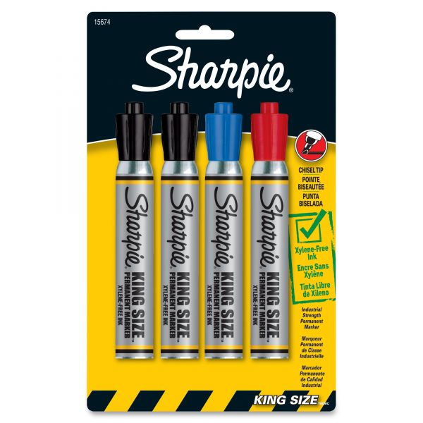 Sharpie King Size Permanent Markers