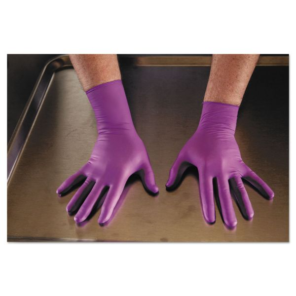 Kimberly-Clark Professional* PURPLE NITRILE Exam Gloves, 310 mm Length, Medium, Purple, 500/CT