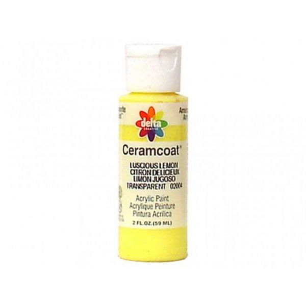 Ceramcoat Luscious Lemon Acrylic Paint