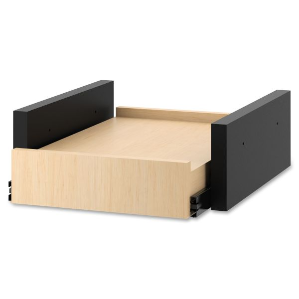 HON Hospitality Cabinet Sliding Shelf, 16 3/8w x 20d x 6h, Natural Maple