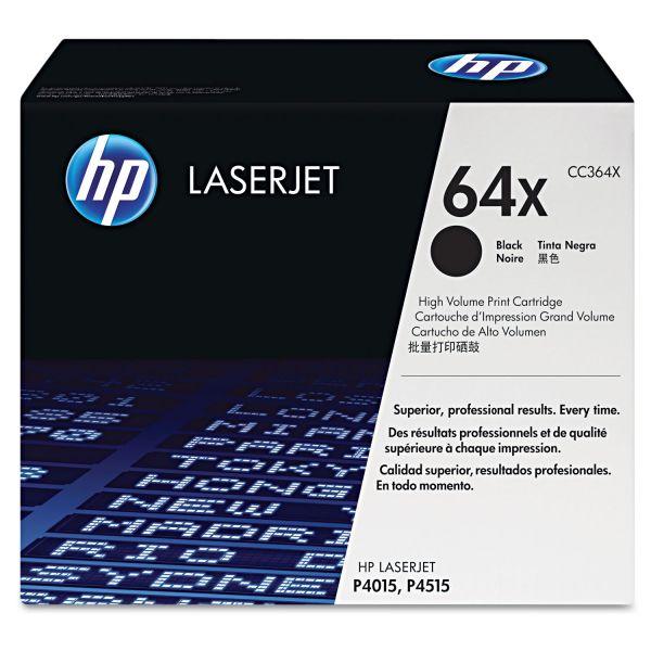 HP 64X Black Toner Cartridge (CC364X)