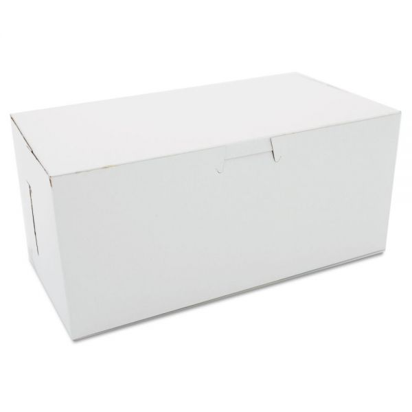 SCT Non-Window Tuck-Top Bakery Boxes