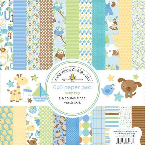 "Snips & Snails Paper Pad 6""X6"""