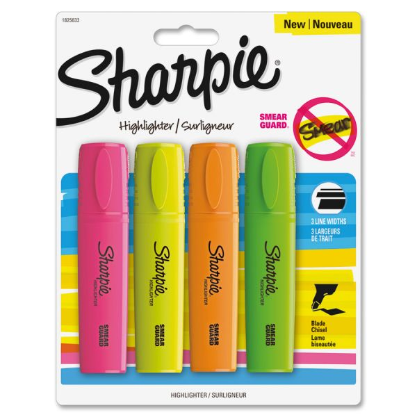 Sharpie Blade Tip Highlighters