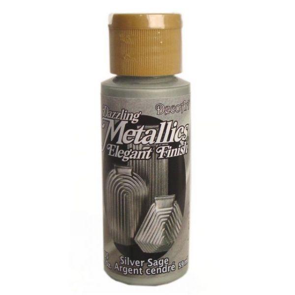 Deco Art Silver Sage Dazzling Metallics Acrylic Paint