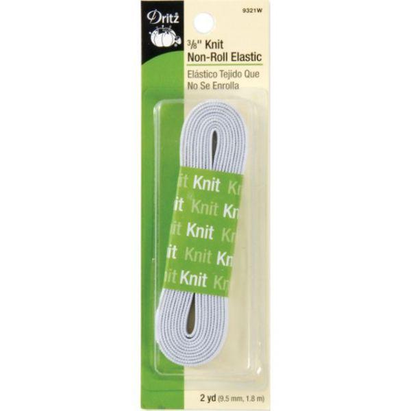 """Knit Non-Roll Elastic 3/8""""X2yd"""