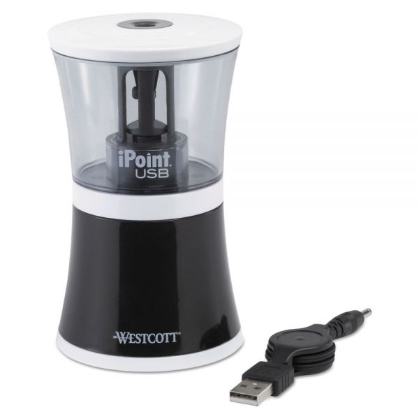 iPoint USB/Battery Powered Pencil Sharpener