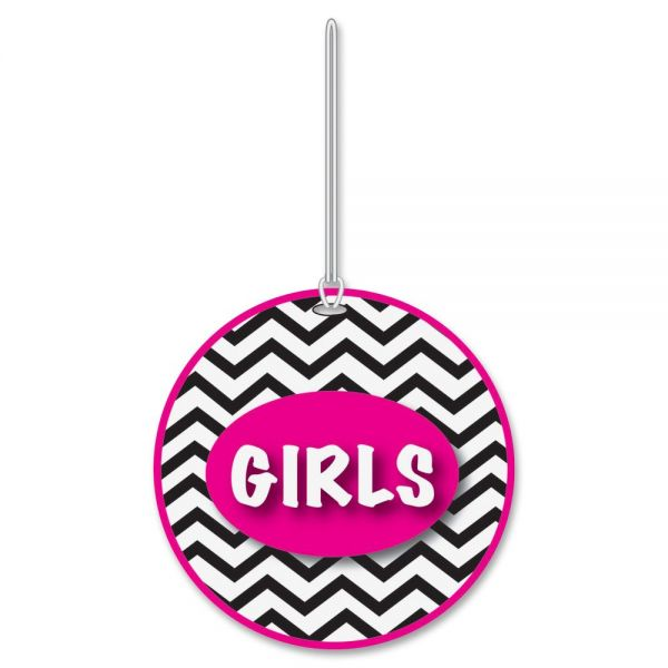 Ashley Chevron Pattern Gender Hall Pass