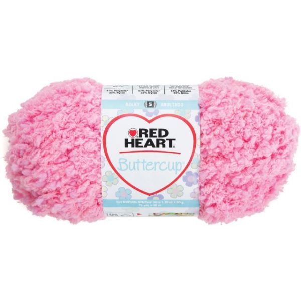 Red Heart Buttercup Yarn - Ballet Slipper