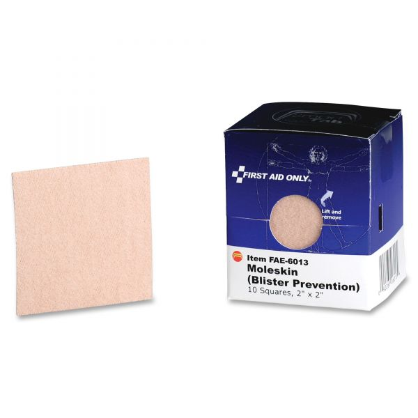First Aid Only Moleskin/Blister Prevention Squares
