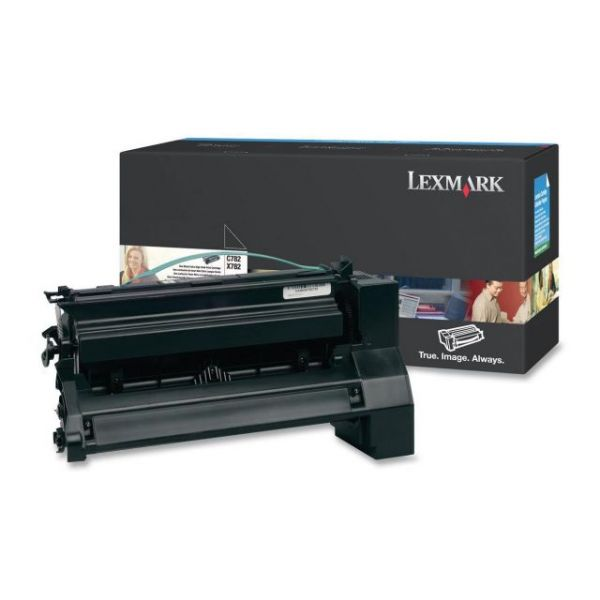 Lexmark C782U1KG Black Extra High Yield Return Program Toner Cartridge