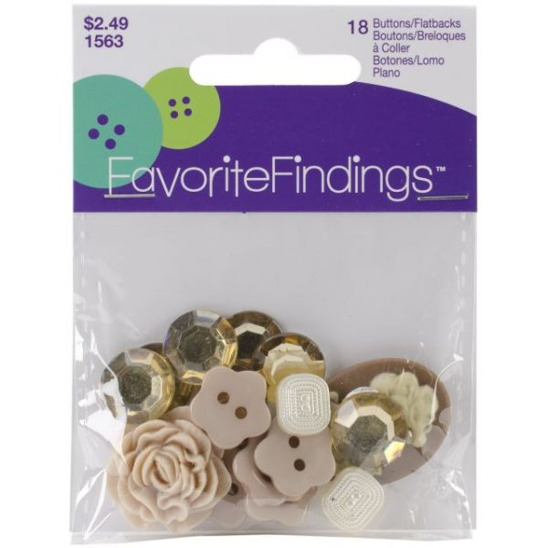 Favorite Findings Buttons