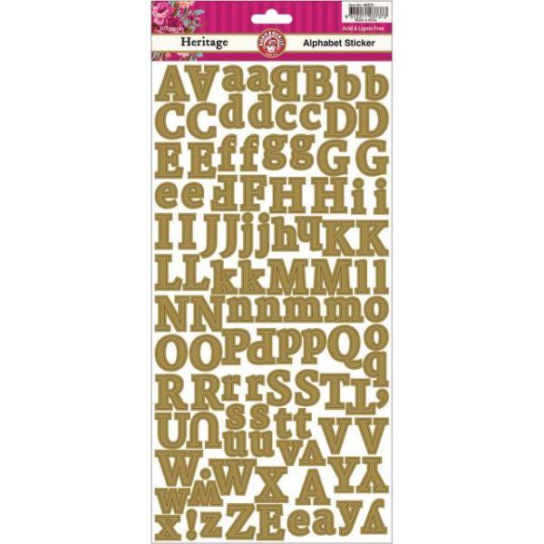 Heritage Cardstock Stickers