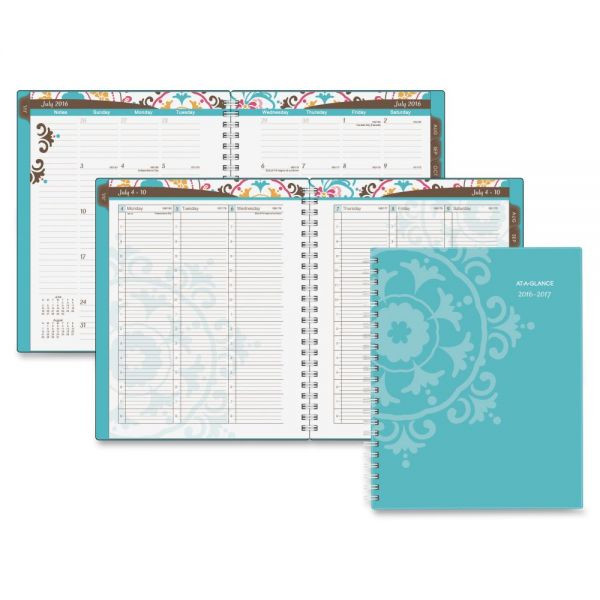 At-A-Glance Suzani Academic Weekly/Monthly Appointment Book