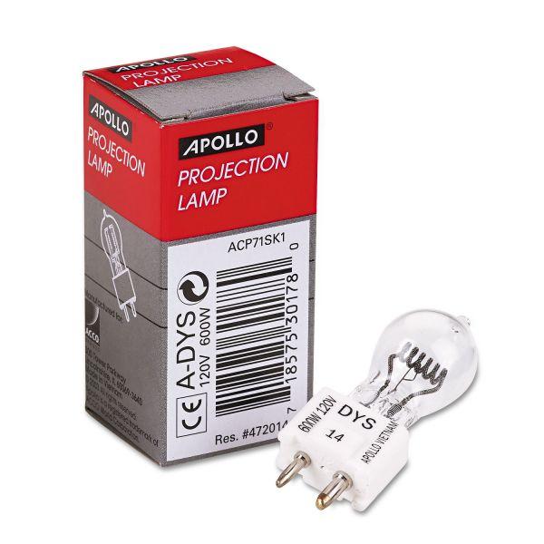 Apollo 600 Watt Overhead Projector Lamp
