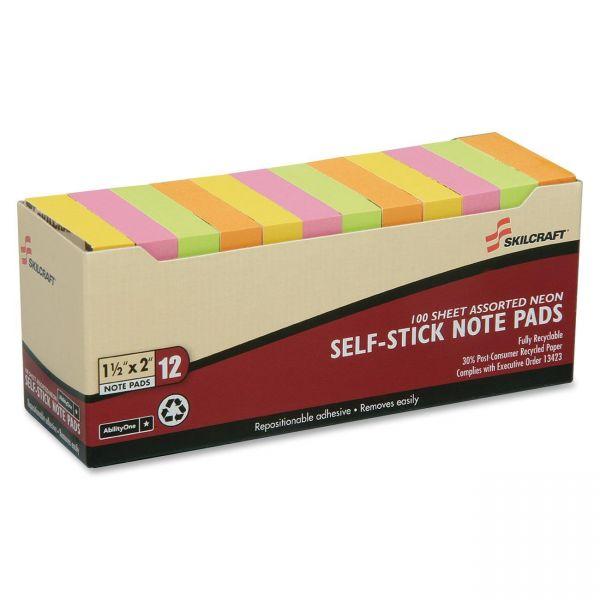 Skilcraft Adhesive Note Pads