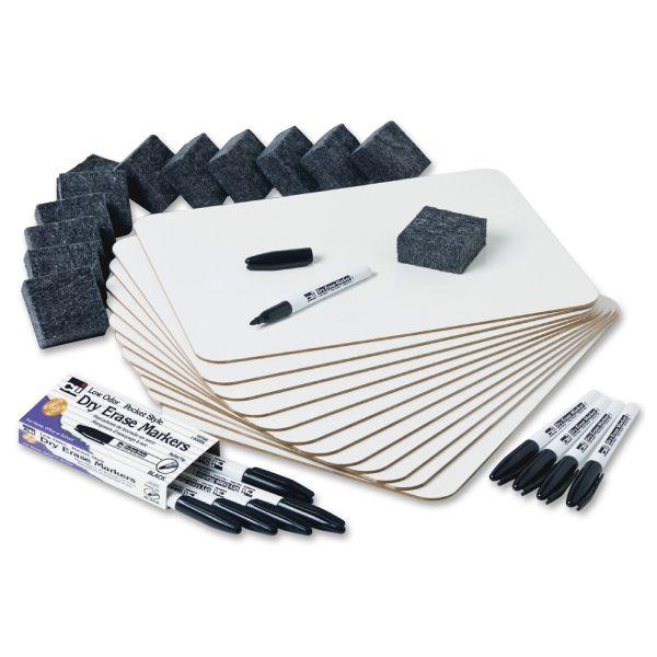 Charles Leonard Dry Erase Lapboard Class Pack