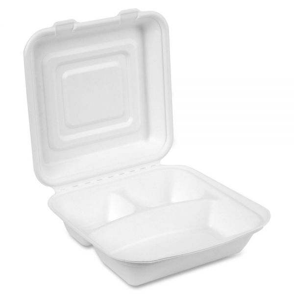Dixie EcoSmart 3-compartmt Foam Container